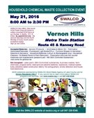 Household Chemical Waster Collection Event