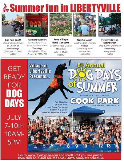 Summer Fun in Libertyville July 7, 2016