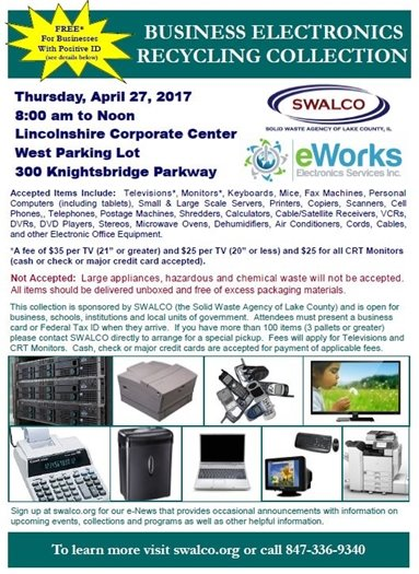 Recycling Event Flyer