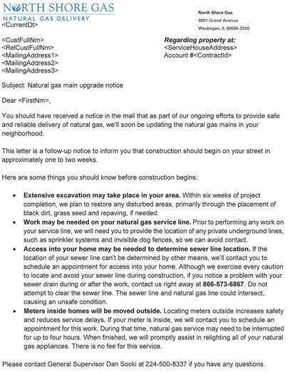 NSG Letter