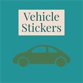 vehicle sticker
