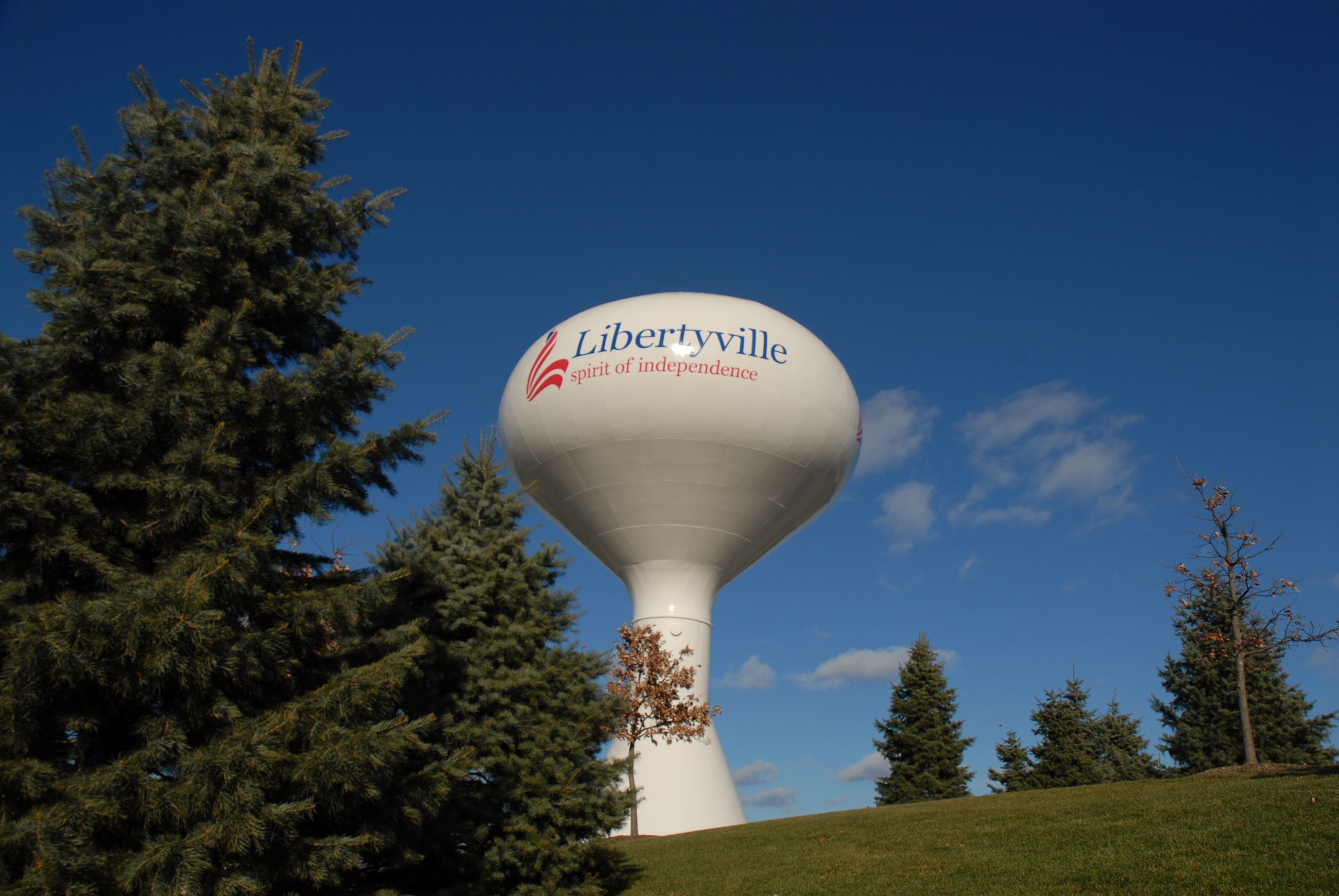 Libertyville Water tower