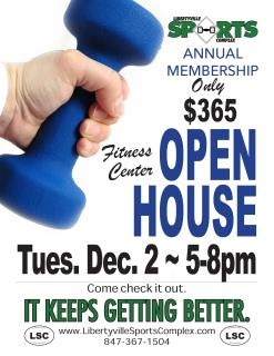 Fitness center Open house Dec 2 2014.jpg