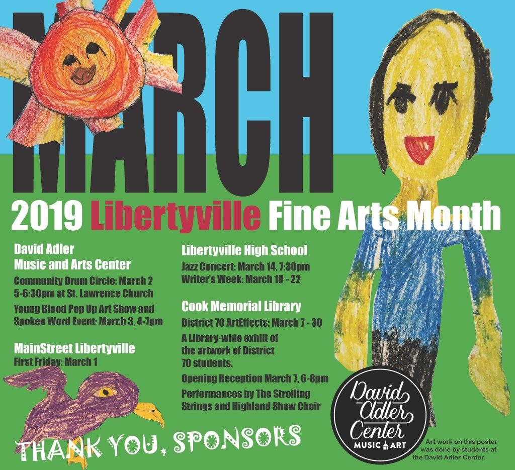 Fine Arts Month poster