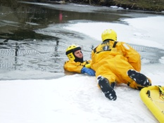 Ice Rescue Training 004